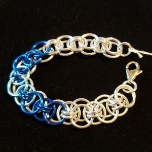 Jewelry - Chainmaille Helm Bracelet (reversible)